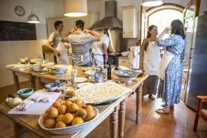 Home cooking in Sicily