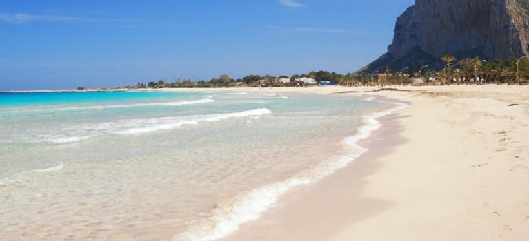 Sandy beach Sicily San Vito Lo Capo