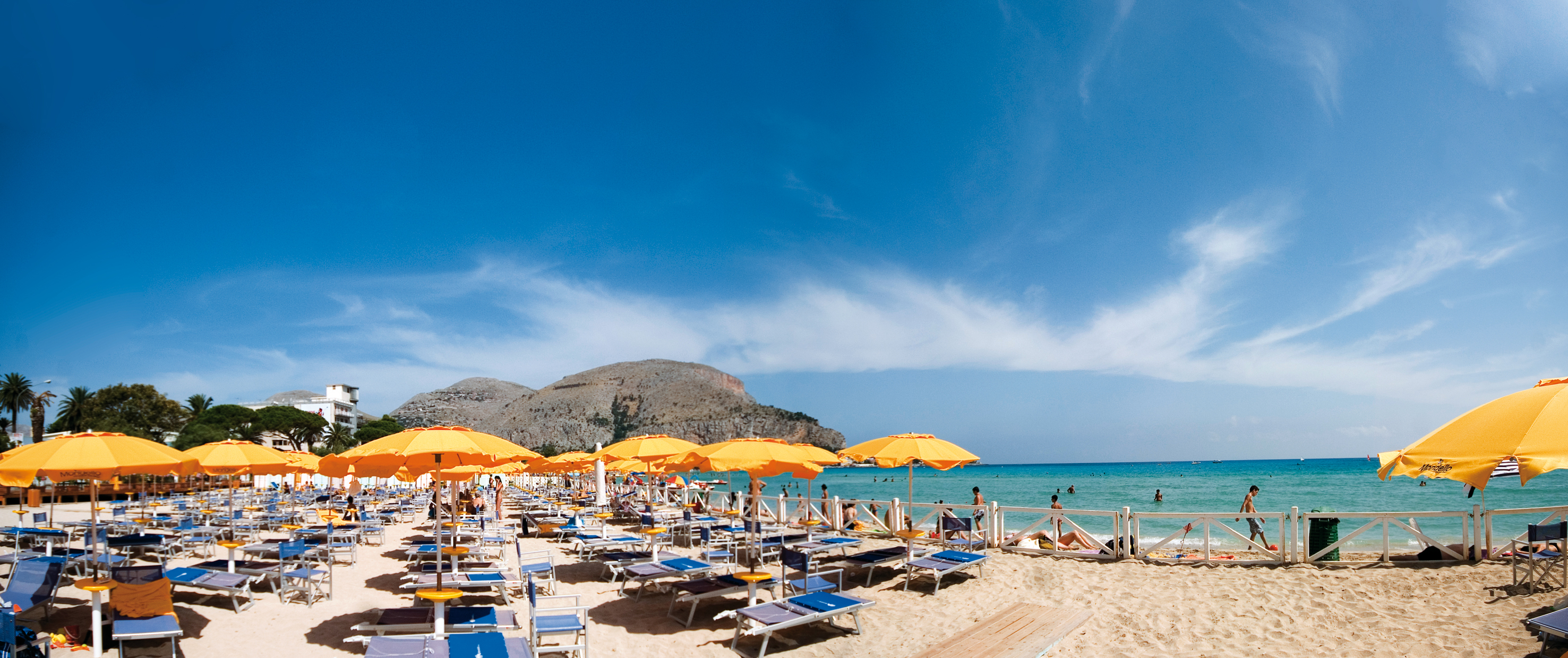 Mondello Beaches Sicily