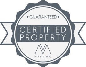 Massimo Villas - Certified Property Logo