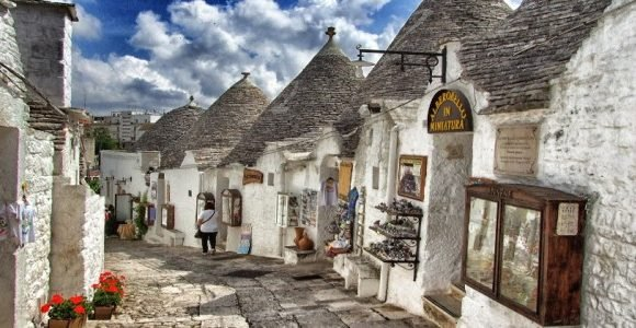 The festive season in Puglia is a magical time