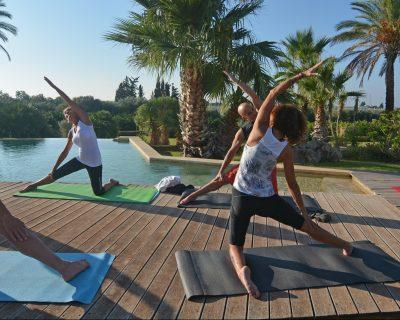 In-Villa private yoga session