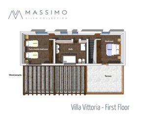 Villa Vittoria - First Floor FINALE MOD