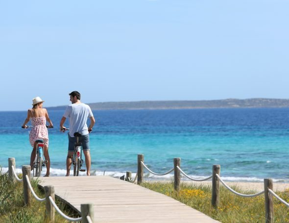 location image Villas in Formentera