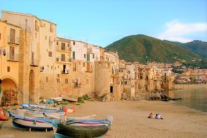 Beaches Cefalu Sicily