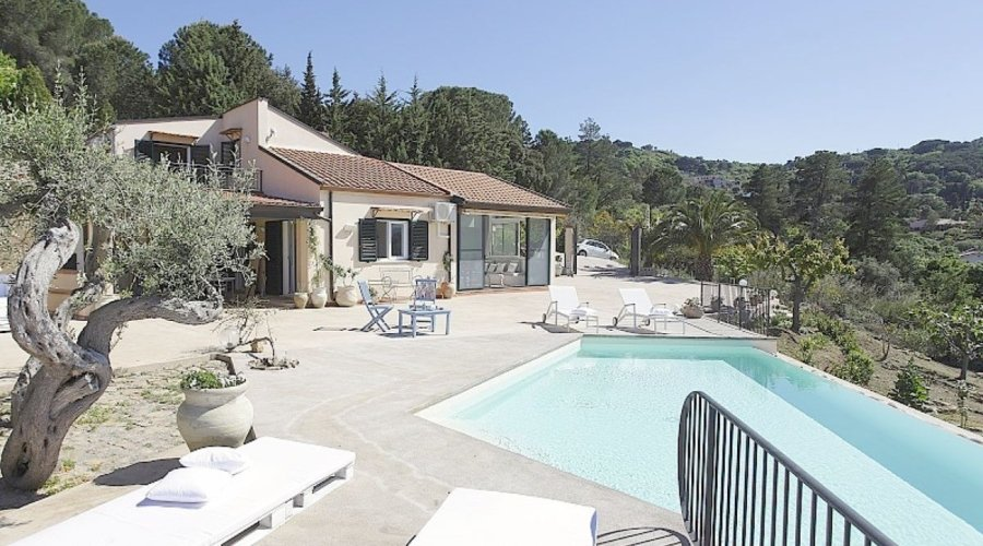 Villa Deodata Cefalu Sicily