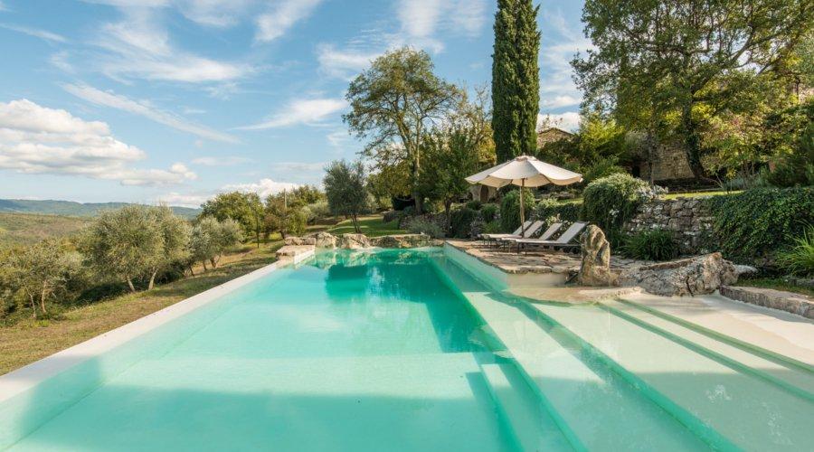 Villa Campo dei Fiori Siena Tuscany