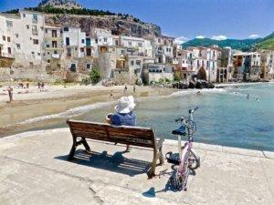 Cefalu Beach, Sicily, Italy